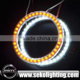 80mm led ring light 3528 smd led circle ring light,rc car led angel eyes lights