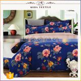 China suppliers new design 100% polyester 4pcs bed sheet set high quality wholesale luxury comforter sets bedding