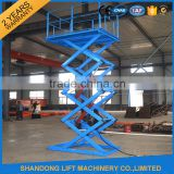 Heavy loading used cargo elevator