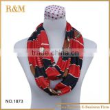 Hot Selling Nursing Scarf Autumn Winter Infinity Scarf
