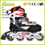 wholesale adjustable size 42 lasting cap pu flashing wheel roller blade                                                                         Quality Choice