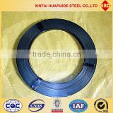 China Hua Ruide -Blueing Metal Packing Belt/Bluing Steel Strips for Packing/Blue Tempered Steel Coils