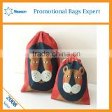 Polyester bag manufacturer to made environmental protection bag/ waterproof drawstring custom bag