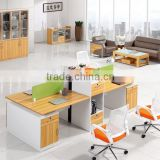 Modern Wooden Partition Workstation Office Table Furniture