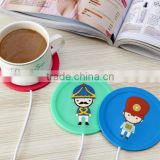 Hot selling cartoon Electric Cup Warmer / usb coffe mug Warmer / USB Cup Warmer