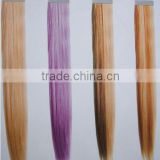 Professional hair factory Various non-remy hair color ring color chart, long straight synthetic hair