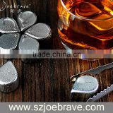 Bar Accessory Ice Cubes,Steel Whiskey Stones, Stainless Steel Raindrop Ice Cubes