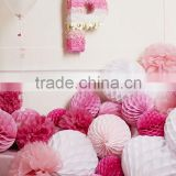 decoration paper honeycomb ball for birthday party room