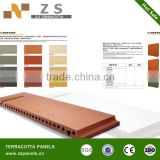 Terracotta stick for sunscreen cladding system /Terracotta louver/no-static and no-radiational products