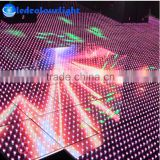 DMX512 led video wall panel light/DISCO DJ nightclub color changing led lights programmable star light dance floor with Madrix