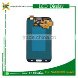 lcd assembly for samsung galaxy note 2 n7100, for samsung gt-n7100 lcd with digitizer touch