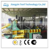 YQD-2500 New design fully automatic waste car metal iron steel brass aluminum baler (CE ISO)