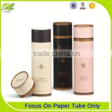 high quality round paper tube packaging perfume bottle