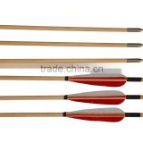 Factory Price Wooden Arrow Shafts For Archery Hunting Bow