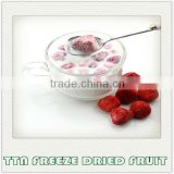 TTN export of Chinese bulk sour low calorie freeze dried fruit strawberry