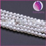 High quality TAAA1 Grade natural 2.0-3.0mm white round freshwater pearl