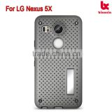 For LG Nexus 5X Net stand case protect well mobile cover high quality alibaba mobile case top supplier in China