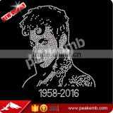 Factory Hotsell Prince Rhinestone Transfer Designs For Garment