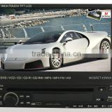 "7"" inch One Din Car DVD Radio With GPS System and Android Wifi 3G, 1 Din Car DVD Android Universal"