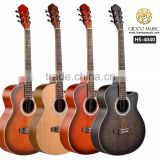 Caravan music acoustic guitar with matt finish for beginner made in China HS4040