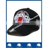 black acrylic high quality Embroidered logo small order accept custom baseball cap and hat