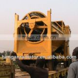 Benefication small alluvial gold mining equipment for a small scale mine