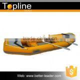 Rigid inflatable Fishing Bait boat with sail
