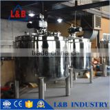 Steel Cooling & Heating Jacketed Buffer Solution Preparation Tank