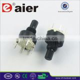 RS16-1-8 Plastic Black Mini 8 Position Rotary Switch