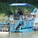 Aquatic weed harvester/Garbage salvage ship/Water surface automatic cleaning cleaning vessel