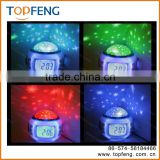 LED Projector Night Light for babies and kids as gifts and presents Large LCD Alarm Clock