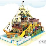 2015 New Pirate Ship Style Indoor Children Playground For Sale LT-0061C