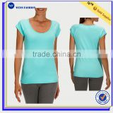 Body Building Wear T-shirt With wholesale Price Dry Fit t Shirt Women Thin Cotton Tshirt