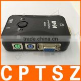 2017 New PS/2 200 MHz Plastic 2 Port KVM Switch