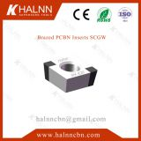 BN-K20 and BNK30 cbn insert milling engine block with FC250 gray cast iron materials