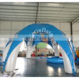 Heat sealing giant inflatable tent for sale outdoor tent for kids and adult inflatable arch tent for sale