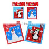 MCH-2343 New hot sale wholesale child education toy puzzle Christmas pattern plastic move puzzle for kids