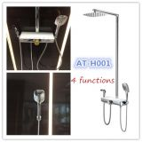 FOSHAN CHINA supplier Ating AT-H001 4functions bathroom shower sets rainfall shower