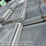 Aluminum security metal mesh ceiling panel