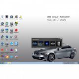 V2020.8 BMW ICOM Software ISTA-D 4.24.13 ISTA-P 3.67.1.000 with Engineers Programming SSD
