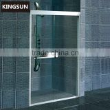 China Wholesale Wet Room Sliding Glass Shower Door With Frame K-7