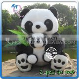 Mini Qute 40 cm kawaii 2 in 1 stuffed animals panda bear dolls plush boneca pelucia brinquedos boys toys NO.MQ 129