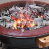 Stove, clay stove, garden BBQ stove, charcoal clay stove, charcoal grill stove - black stove