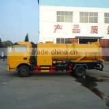 2015 Euro III or Euro IV 6000L vacuum cleaner truck Dongfeng vacuum sewer cleaning truck