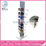 Free Standing Best Quality Aluminum Alloy Sunglasses Display With Lock