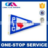 Logo printed and promotional purpose custom hand held flags