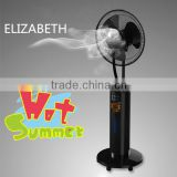 solar power mini fan misting outdoor fan