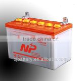 professional manufacturing high quality lead acid Dry Charged storage Car Battery N80 12V80Ah