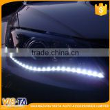 12V Multi color COB Led drl/universal daytime running lights led auto accessories