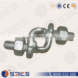 China supplier US type drop forged fist grip clips